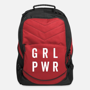 Funny Quotes For Girls PWR / Girl Power Quote - Computer Backpack