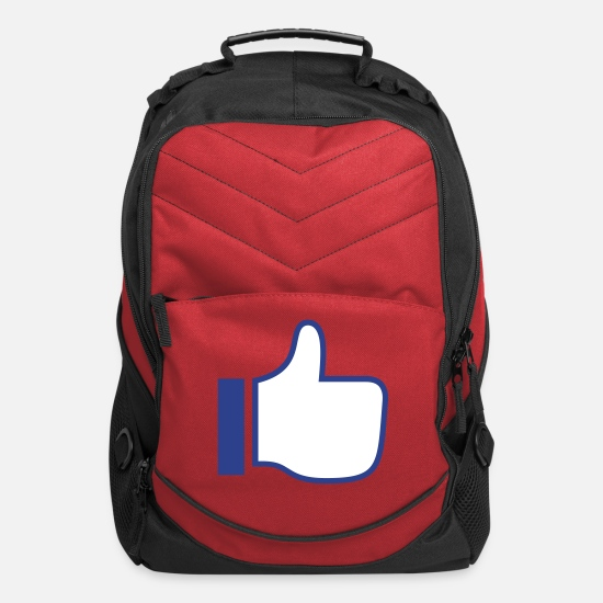 Love Bags & Backpacks - Thumbs Up - Computer Backpack red