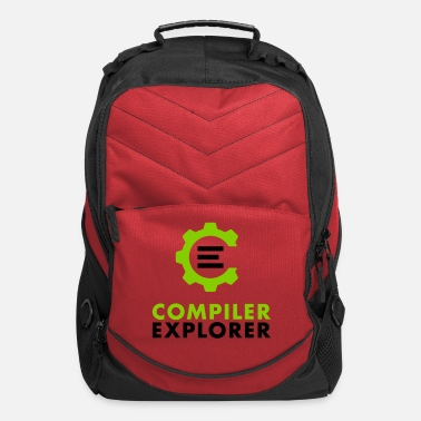 Text Logo and text - Computer Backpack