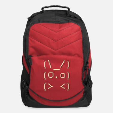 Mobile ascii art: bunny - Computer Backpack