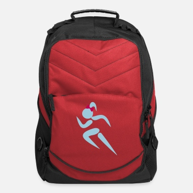 Some ❤✦Sexy Female Sprinter Wearing a Pony tail✦❤ - Computer Backpack