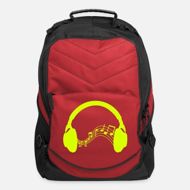 Dubstep Headphones - Computer Backpack