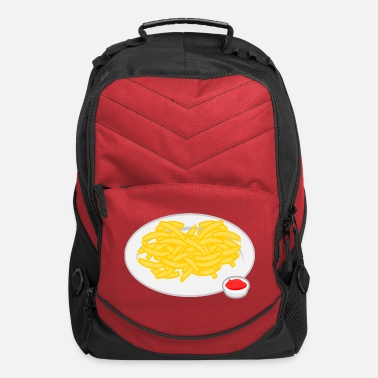 French Roast French Fries Plate - Computer Backpack