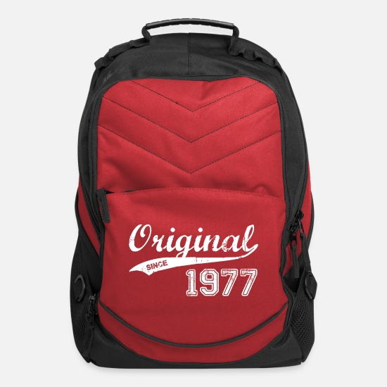 1977 Bags & Backpacks - 1977 - Computer Backpack red
