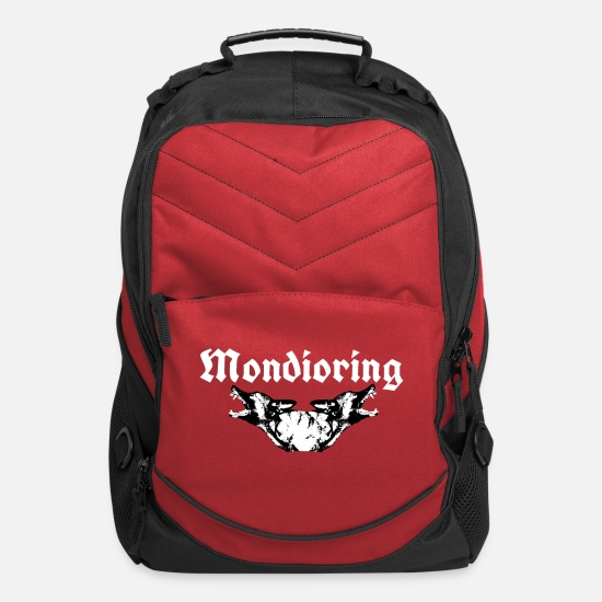 Mondioring Bags & Backpacks - Shepherddog,German Shepherd, Mondioring - Computer Backpack red