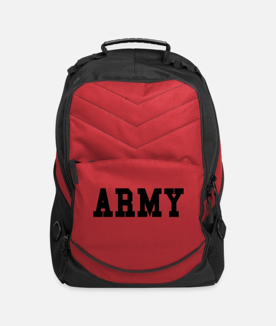 Army Bags & Backpacks - ARMY - Computer Backpack red