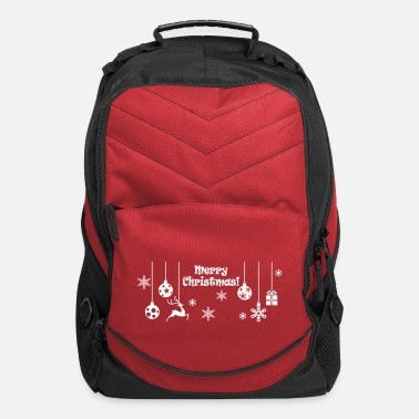 Christmas  Merry Christmas - Computer Backpack