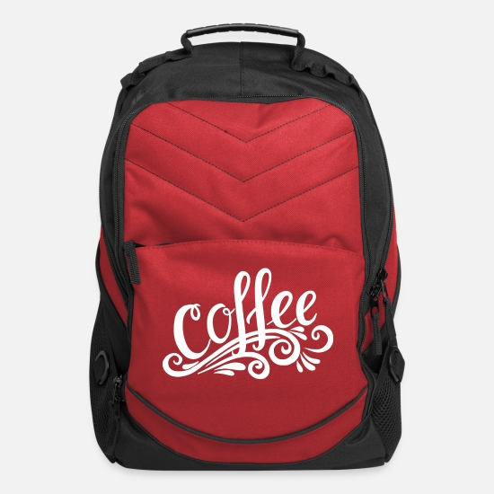 Coffee Bean Bags & Backpacks - COFFEE - Computer Backpack red