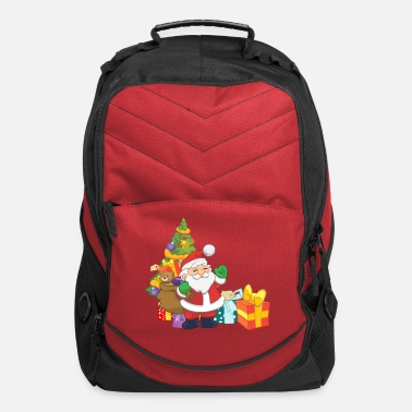 Santa Claus Merry Christmas - Computer Backpack