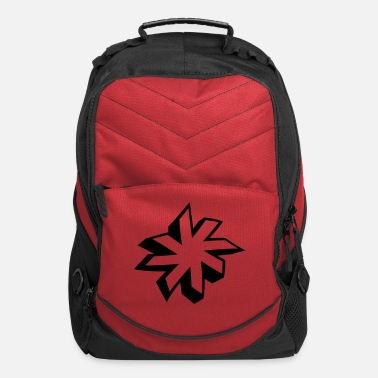 Ornament minimalistic star 3D - Computer Backpack