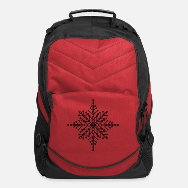 Idea Snow crystal - Computer Backpack
