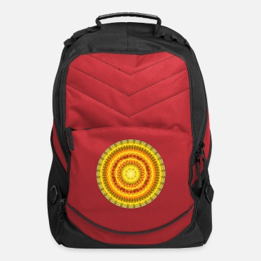 Force Star Lotus Mandala - Computer Backpack