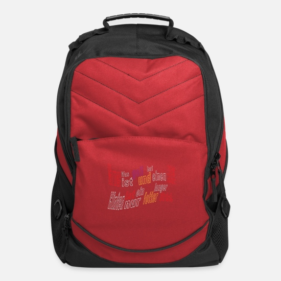 Smartphone Bags & Backpacks - Flirt cute gift idea attention line sex - Computer Backpack red