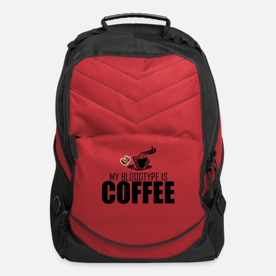 Coffee Bags & Backpacks - Coffee - Computer Backpack red