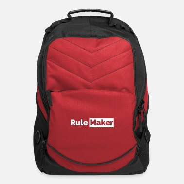 Breakdown Couples Rule Maker Partnerlook Funny Gift Idea - Computer Backpack