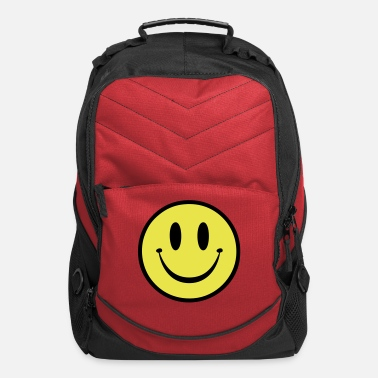 Dubstep Old Skool Rave Smile - Computer Backpack