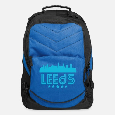 Leeds Retro Leeds Skyline - Computer Backpack