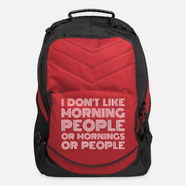 People morning people - Computer Backpack