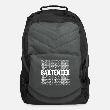 Bar-pub Bartender Club Bar Pub T-Shirt - Computer Backpack