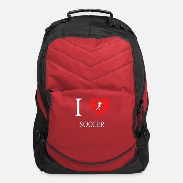 I Love Soccer I Love SOCCER - Computer Backpack