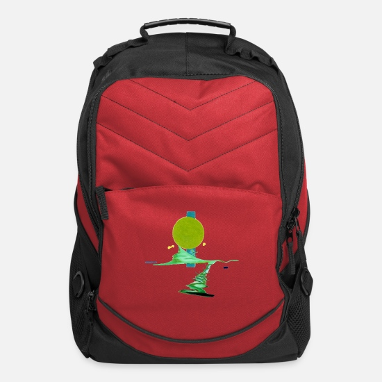 Minimalist-design Bags & Backpacks - Minimalist Design - Computer Backpack red