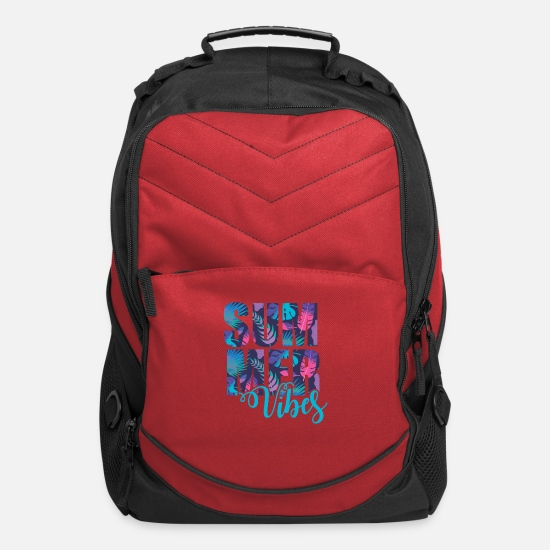 Cool Bags & Backpacks - Summer Vibes - Computer Backpack red