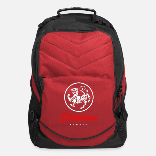 Karate Bags & Backpacks - shotokan_f - Computer Backpack red