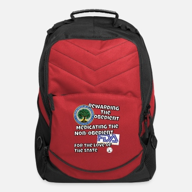 Obedience US Dept. of Education - Rewarding the Obedient... - Computer Backpack