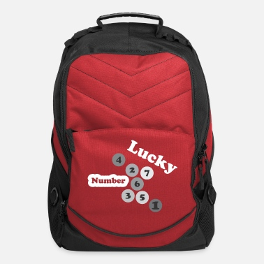 Lucky Number Lucky Number - Computer Backpack