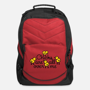 Single Chicks are all over me - Computer Backpack