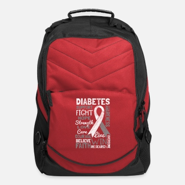 Cure Shirt for diabetes awareness day - diabetes type 1 - Computer Backpack