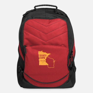 Wisconsin Funny Funny Minnesota Wisconsin Shirt Gift Men Women - Computer Backpack