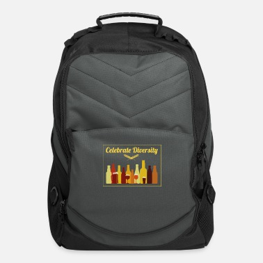 Celebrate Celebrate Diversity Craft Beer Drinking - Computer Backpack