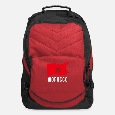 Morocco Flag - Computer Backpack