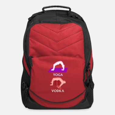 Drinking Game Yoga Vodka Funny Boozer Drinking Game - Computer Backpack