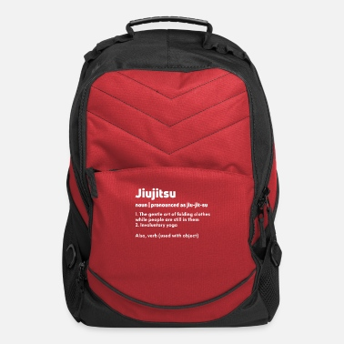 Jiujitsu Funny Jiujitsu Jiu jitsu Jiujitsu definition - Computer Backpack