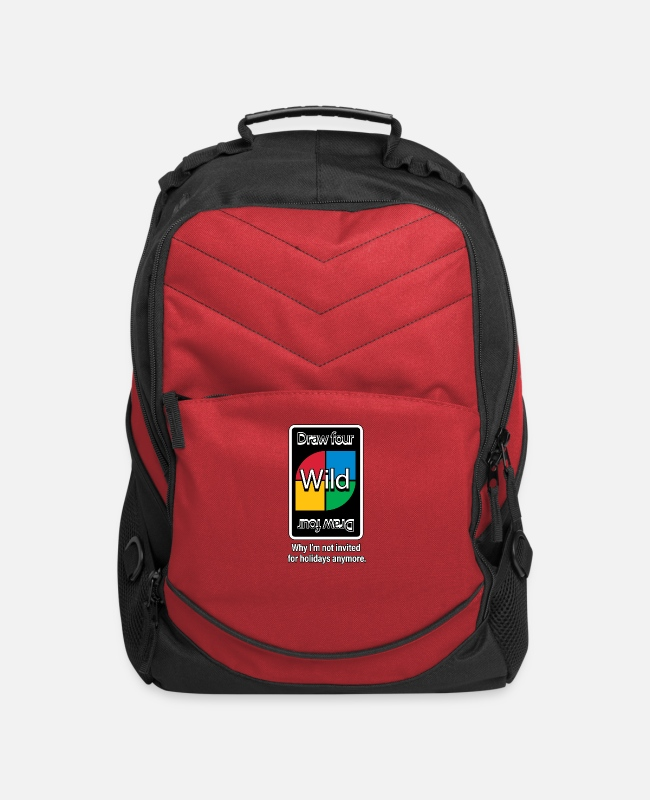 Holidays Bags & Backpacks - Why I'm Not Invited For The Holidays Anymore. - Computer Backpack red