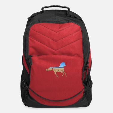 Mustangs and Ponys - Computer Backpack