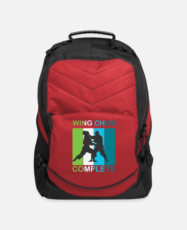 Training Bags & Backpacks - Wing Chun Complete gift - Computer Backpack red