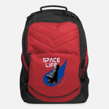 Space Space Life Capsule - Computer Backpack