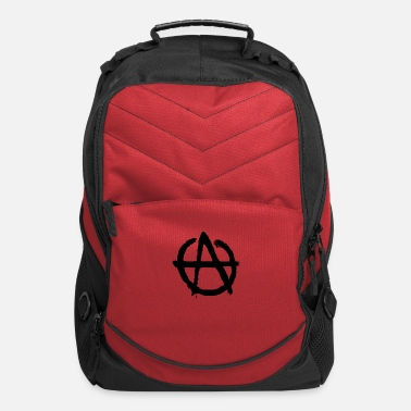 Disobey Anarchy Symbol - Computer Backpack
