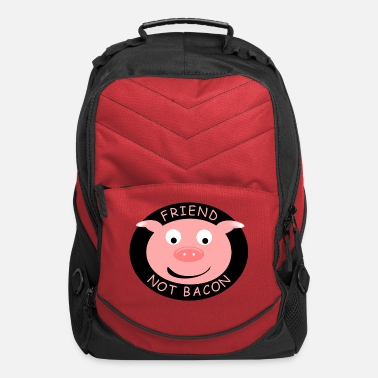 Vegan Friend Not Bacon - Computer Backpack