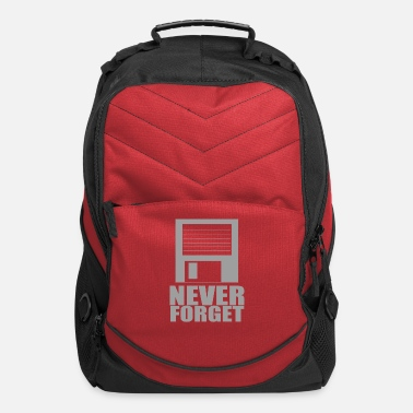 Never Forget Floppy - Computer Backpack