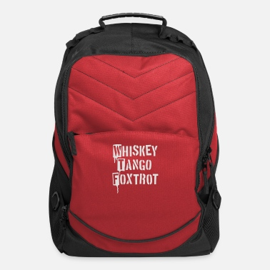 Foxtrot Whiskey Tango Foxtrot - Computer Backpack