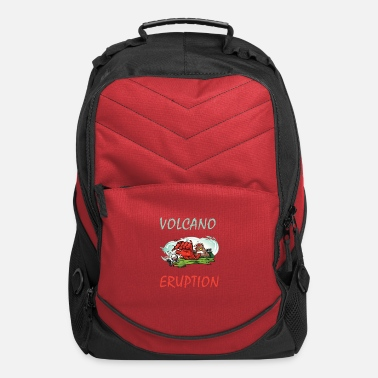 Volcano volcano eruption - Computer Backpack