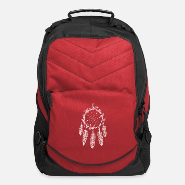 Dream Catcher White dream catcher - Computer Backpack