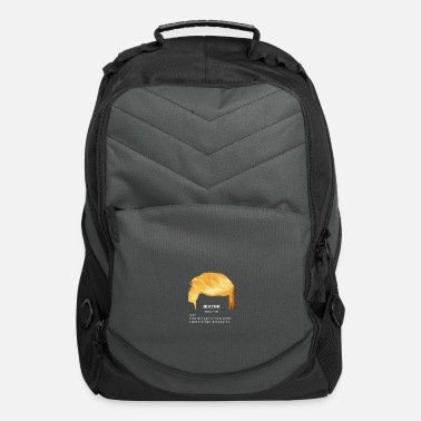 Moron Moron Trump White - Computer Backpack