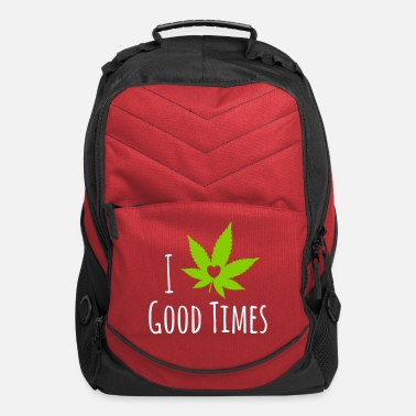 Hemp Weed Love - Computer Backpack