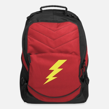 Electricity lightning_bolt_kids_shirts - Computer Backpack