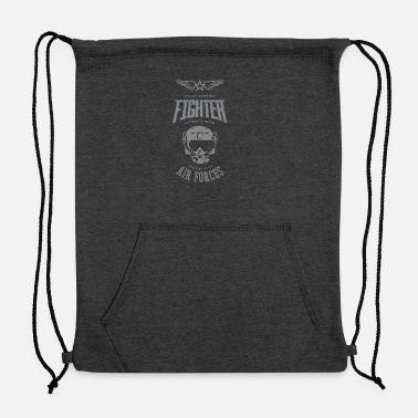 Fighter fighter - Sweatshirt Drawstring Bag